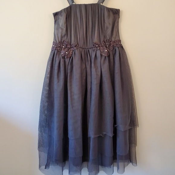 American Rag Gray Prom Dress Sz 1x Nwt